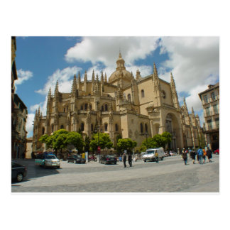 Postal Catedral España de Segovia