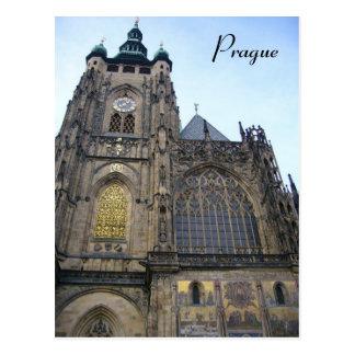 Postal catedral Praga