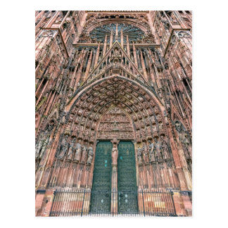 Postal Cathedrale Notre-Dame, Estrasburgo, Francia