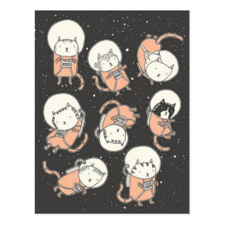 Postal Catstronauts