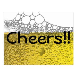 Postal Celebración de la cerveza