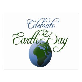 Postal Celebre el Día de la Tierra