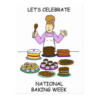 Postal Celebremos la semana nacional de la hornada