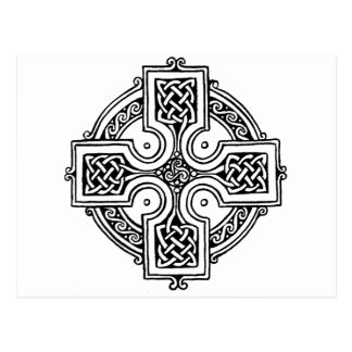 Postal Celtic cross pattern