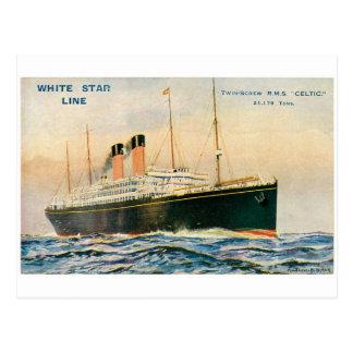 Postal Celtic del RMS