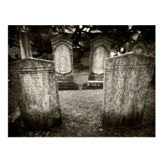 Postal Cementerio de Charleston