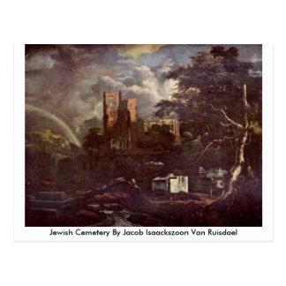 Postal Cementerio judío de Jacob Isaackszoon Van Ruisdael