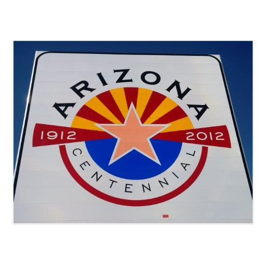 Postal centenaria de la muestra de Arizona