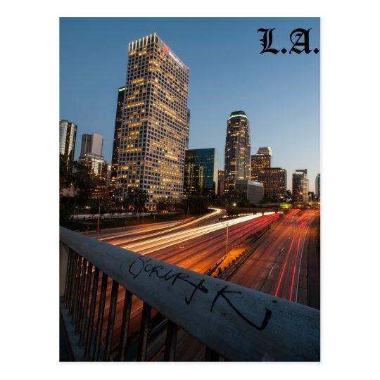 Postal céntrica de L.A.