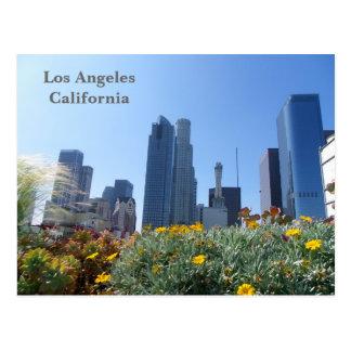 ¡Postal céntrica de la opinión de Los Ángeles! Postal