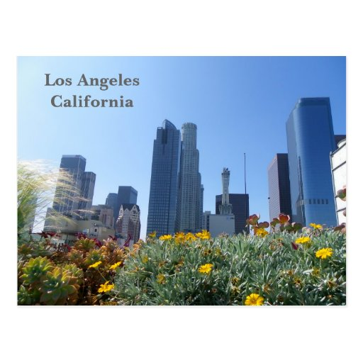 ¡Postal céntrica de la opinión de Los Ángeles!