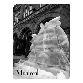 Postal Centro histórico de Montreal