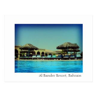 Postal Centro turístico de Bander del Al, Bahrein