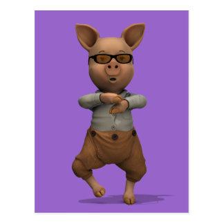 Postal Cerdo del golpeador
