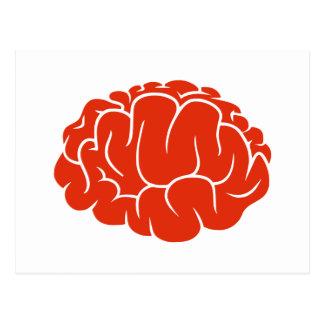 Postal Cerebro del empollón