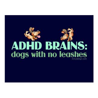 POSTAL CEREBROS DE ADHD