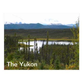 Postal Charca del Yukón