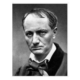Postal Charles Baudelaire