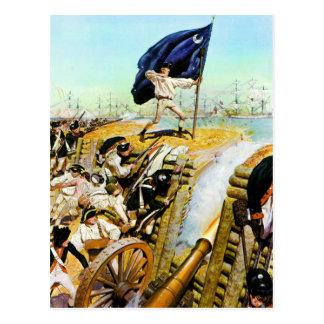 Postal Charleston, Carolina del Sur junio de 1776