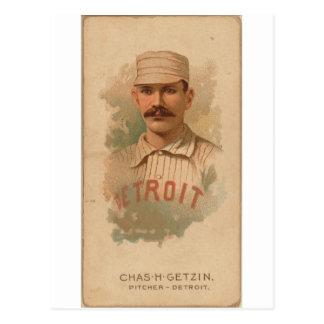Postal Charlie 1888 Getzien