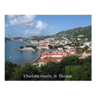 Postal Charlotte Amalie, St Thomas