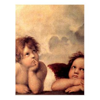 Postal Cherubim - Raphael
