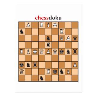 Postal chessdoku