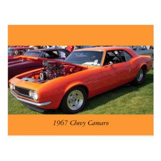 Postal Chevy 1967 Camaro