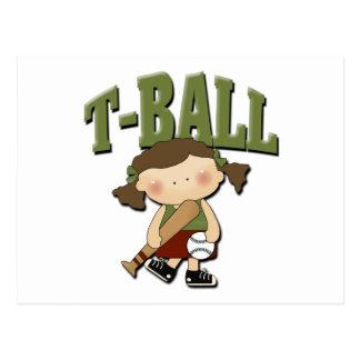 Postal Chica del T-Ball