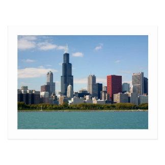 Postal ChicagoSkyline