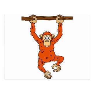 Postal Chimpancé de Tongo