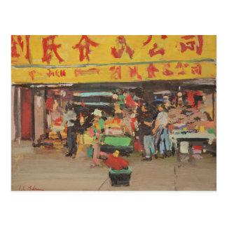 Postal Chinatown Nueva York 2012