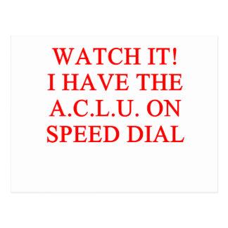 Postal Chiste de ACLU