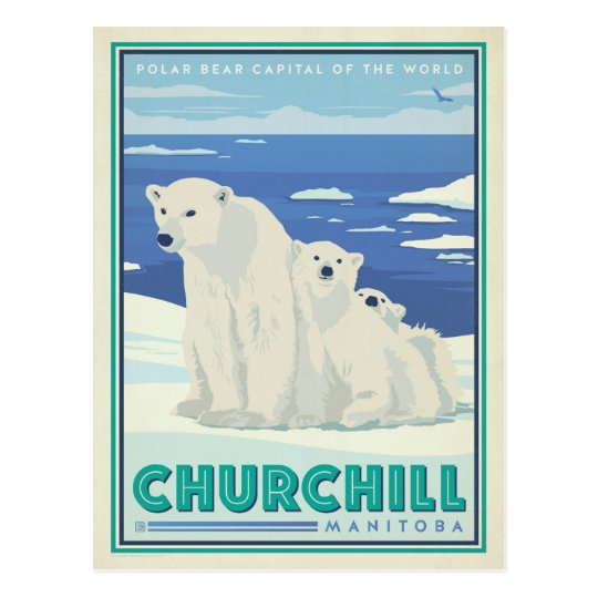 Postal Churchill, Manitoba