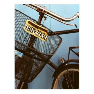 Postal Ciclo Pekín de ciclo que monta en bicicleta China