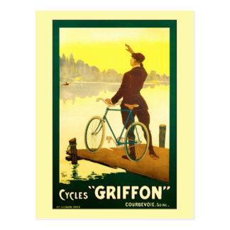 Postal Ciclos Griffon por el Thor de Gualterio