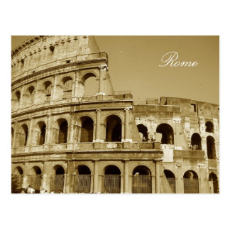 Postal Cierre del coliseo de Roma para arriba