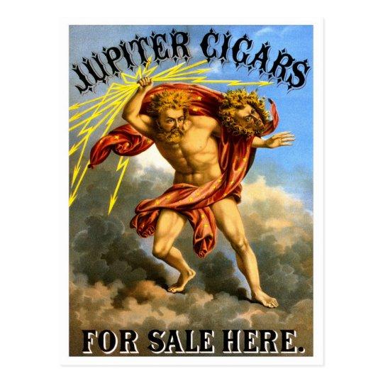 Postal Cigarros de Júpiter, 1868