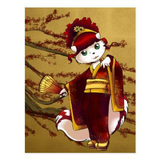 Postal Cilke - kimono