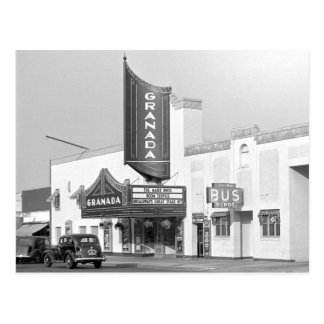 Postal Cine de Granada, 1938