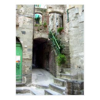 Postal Cinque Terre (calle de Corniglia)