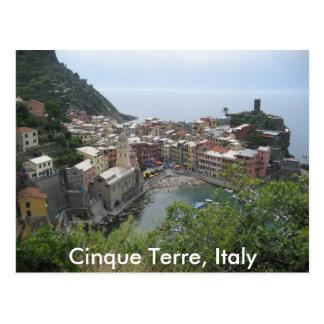 Postal Cinque Terre, Italia