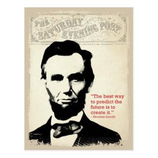 Postal Cita de Abe Lincoln
