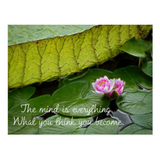 Postal Cita de Buda