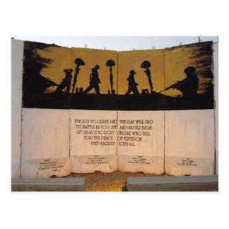 Postal Cita del monumento/de Garfield de la barrera del