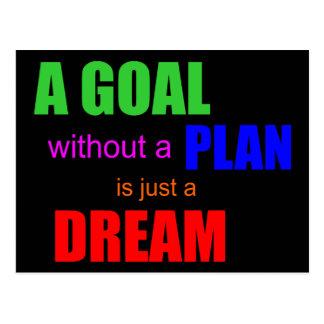 Postal cita del ramsey de dave una meta sin un plan