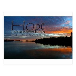 Postal Cita inspirada -- Esperanza