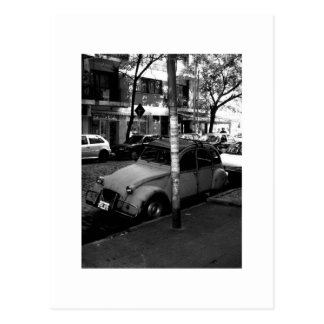 Postal Citroen en modo en Buenos Aires