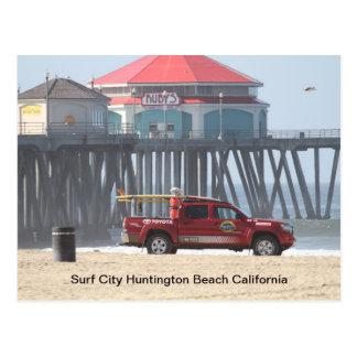 Postal Ciudad California de la resaca