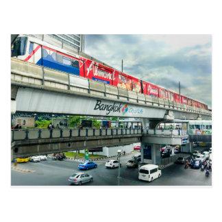 Postal Ciudad de Bangkok de la vida